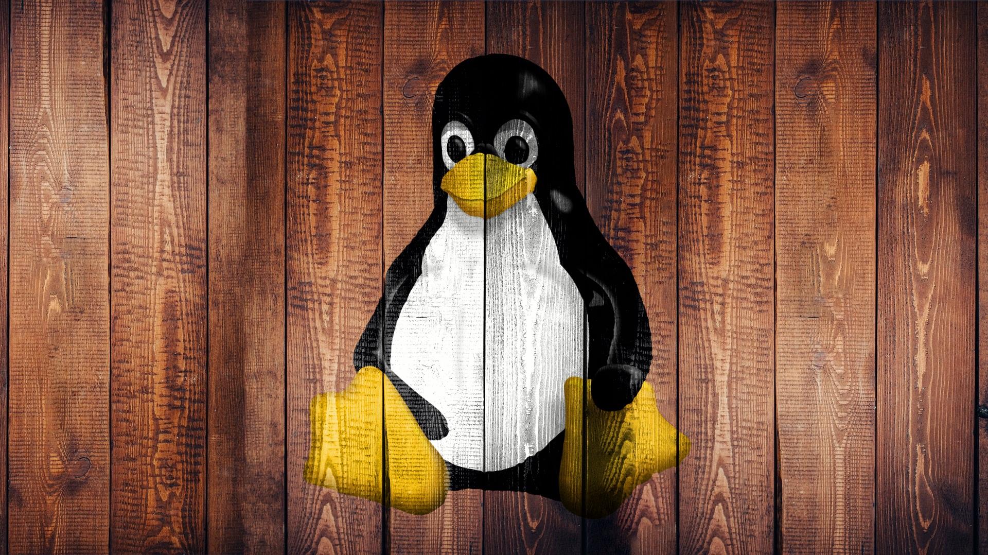 linux, laptop, screen